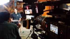 Miami Crew covers Media Day for the Miami Heat video production services