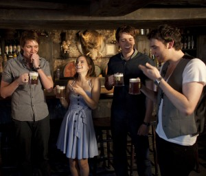 Harry Potter Stars Getting Their First Taste of Butterbeer