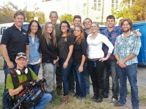 """""""Fixer Upper"""" season one crew.  I loved working with these people."""