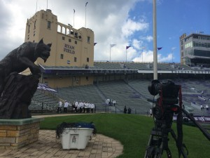 Video Time Lapse Northwestern marching band Football College Chicago Canon C300 Big Ten Bands 5D  Chicago Video Crew kicks off College Football Season at Northwestern video production services chicago video crew