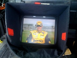 NASCAR driver Matt Kensenth live on ESPN