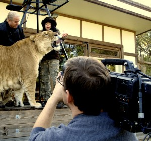 Jimmy Shots Liger Feeding with Varicam