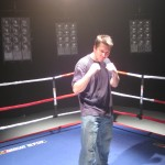 Nascar Hanger Boxing Video