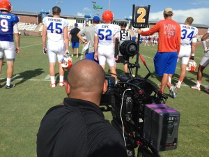 SEC Miami Video Crew Miami Kurt Roper Florida Gators college football  video camera crew