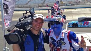 """I met """"Tony NASCAR"""" along the way too."""