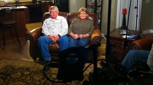 Clint Bowyer's parents sit down for an interview.