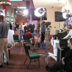 On the set of the Children's Miracle Network
